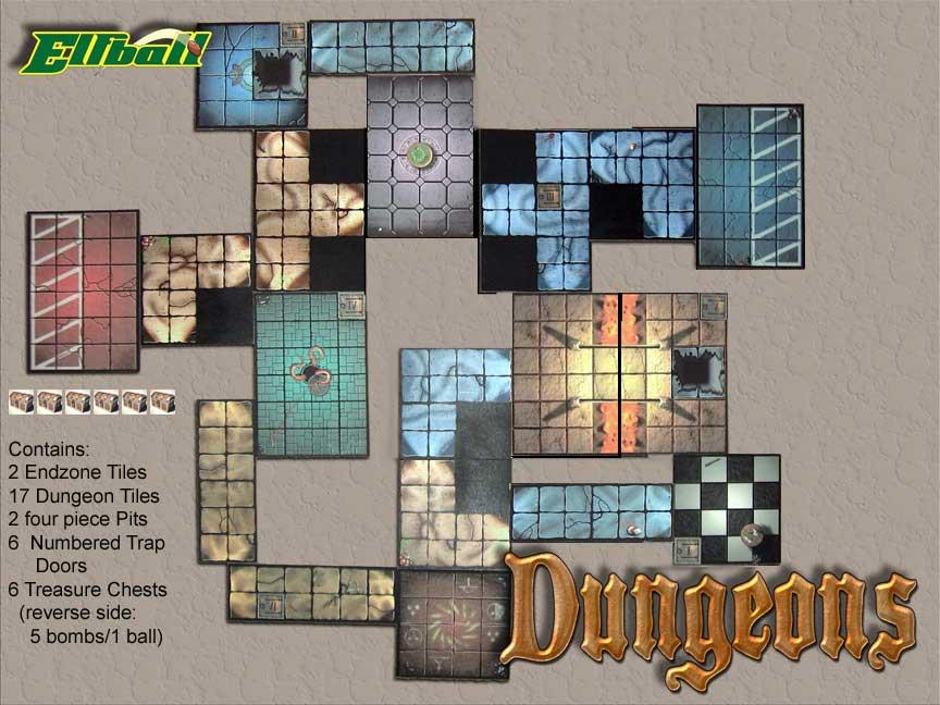 Dungeonbowl, November ElfballDungeon